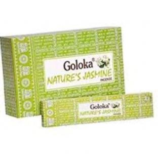 Goloka | Nature's Jasmine | Incense Sticks  | 1 x 15 gr. Box